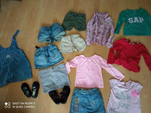 Ubranka  dla dziewczynki 86-98