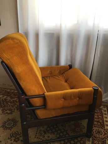 Fotele  vitage prl -2 sztuki