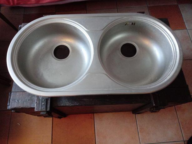 Zlew kuchenny podwojny