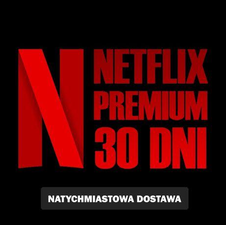 Netflix Premium 4K Ultra HD Gwarancja Działa na PC/TV Okazja! BLIK
