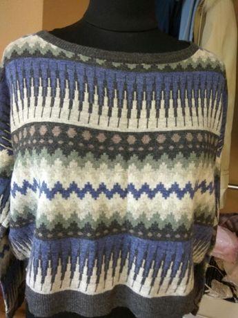 Стильный укороченный свитер