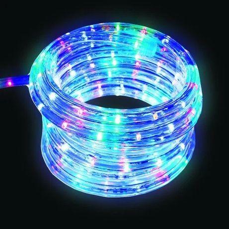 """Уличная гирлянда """"Rope Light"""" 50 метров Мульти Цветной, 900 LED"""