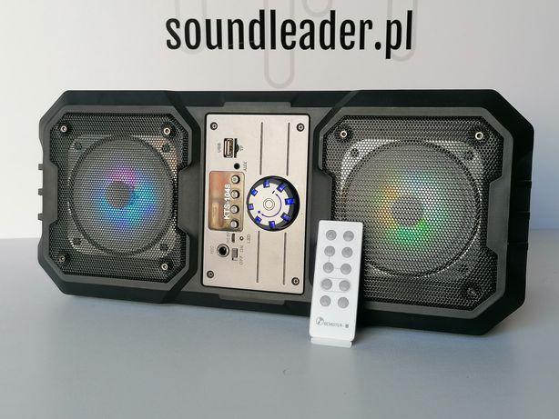 Głośnik bezprzewodowy bluetooth karaoke radio odtwarzacz MP3