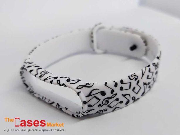 Bracelete silicone Xiaomi Mi Band 5 / Mi Band 6