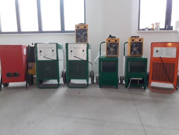Osuszacz powietrza wilgoci 80L/24h/30zł Wynajem maszyn budowlanych