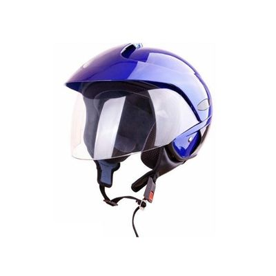 Kask moto bezszczękowy WL-703 połysk niebieski L