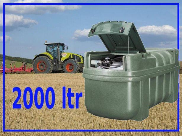 Zbiornik ON 2000 litrów Fortis Produkt Polski Gwarancja 10 lat Okazja