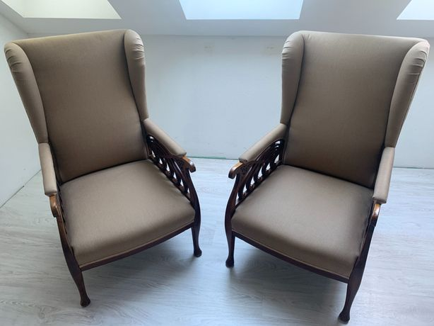 Antyki Fotele 2 szt Bidemaier