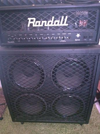 Amplificador Randall Diavlo RD100 + Cab RD412A