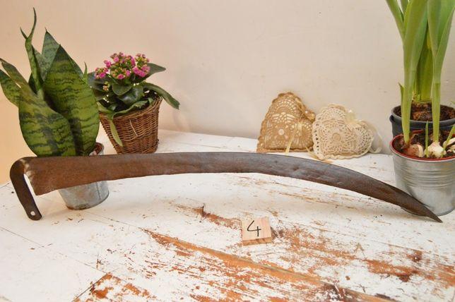 Star oryginalna KOSA RĘCZNA dł 78 cm Sygnowana