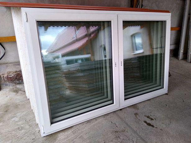 Okna plastikowe używane 216x133 z demontażu z Niemiec! OKNAWĄSOSZ