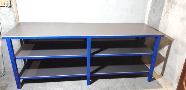 Duży stół warsztatowy/roboczy solidny i tani