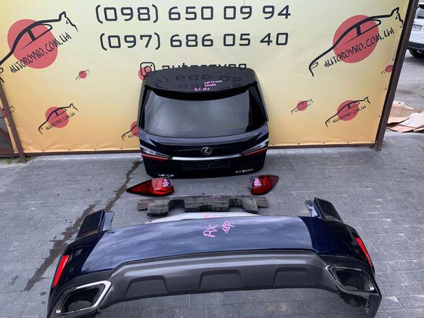 Lexus RX Крышка багажника Lexus RX Бампер задний Lexus RX Усилитель