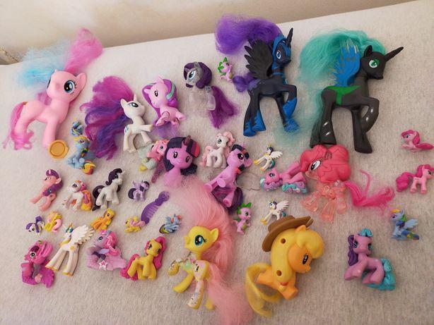 Zestaw figurek-Koniki pony