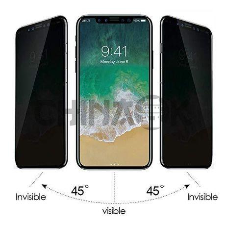Защитное приватное стекло для iPhone 7/8/7+/8+/10/X/XS/XR/XS MaX