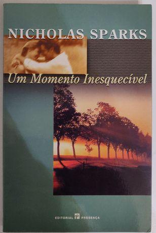 """""""Um momento inesquecível"""" Nicholas Sparks"""
