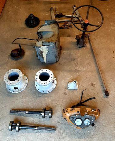Części Ursus C360 - Mechanizm różnicowy, Pochwy, Zbiornik paliwa, itp.