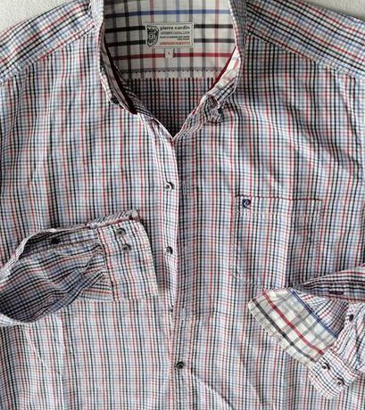 Koszula Pierre Cardin, spodnie i bezrekawnik pikowany