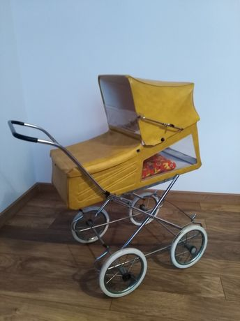 Wózek dla lalek z PRL