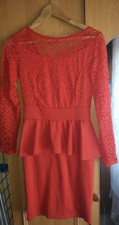 Платье осень