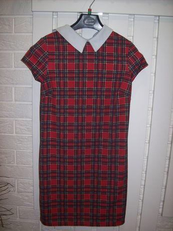 Sukienka w kratkę 36 Okazja!