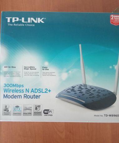 Tp-link adsl роутер