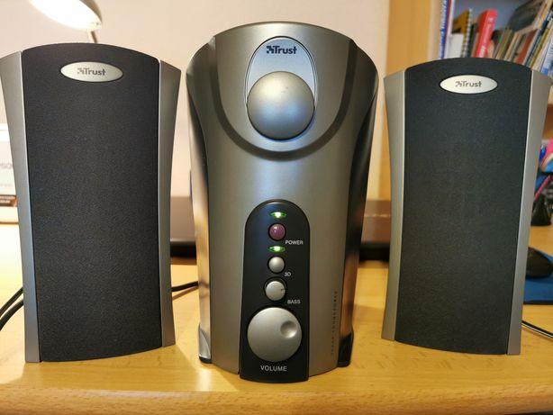Głośniki komputerowe 2.1 TRUST SoundForce 1000P subwoofer