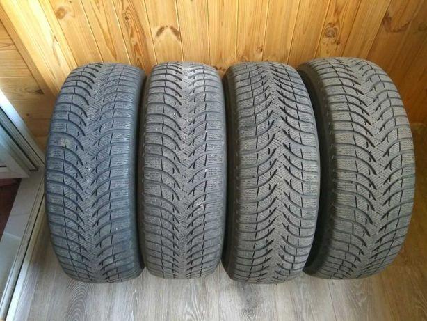 Продам комплект зимней резины Michelin Alpin A4 205/60 R16.