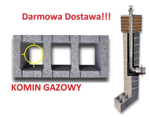 Komin 6m gazowy fi 80 system kominowy do gazu Dostawa gratis