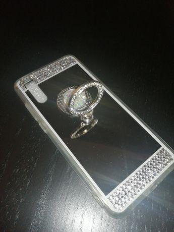 NOWE etui Huawei P20 lustro/cyrkonie