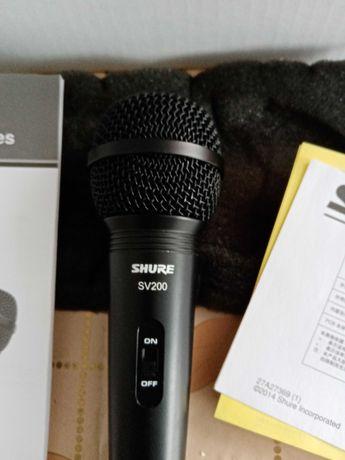 mikrofon shure sv 200, jak nowy