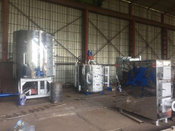Оборудование по переработке сои, подсолнечника. Котел термомасляный