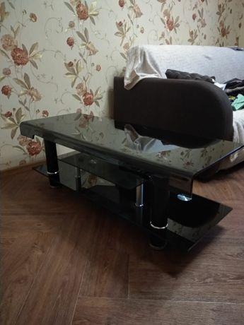 Продам стеклянную тумбу под телевизор, стол под телевизор