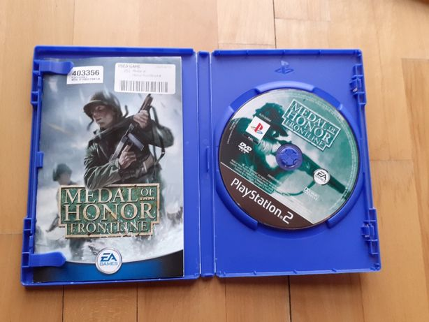 Gra Medal of Honor Frontline na PS2