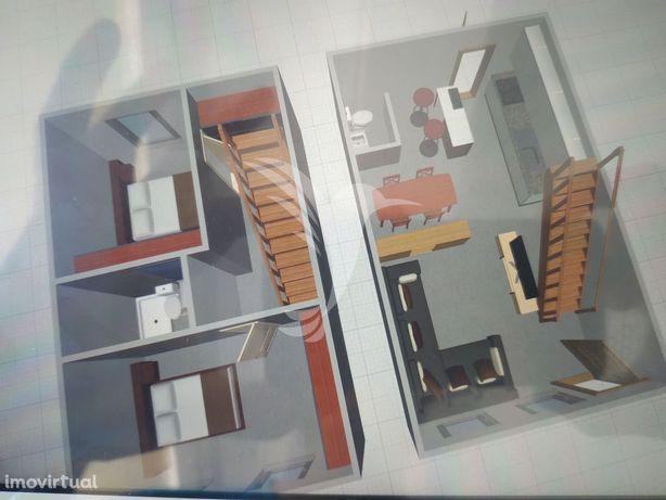 Apartamento T2 Duplex - Centro Ílhavo