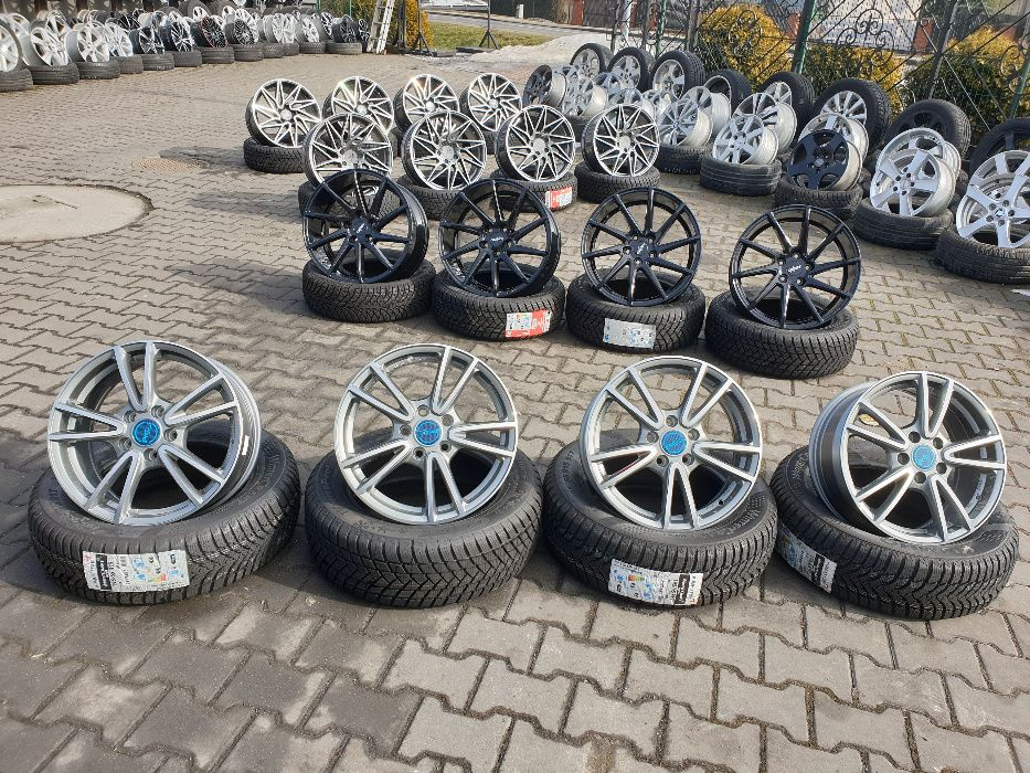 "Felgi aluminiowe 5X112 18"" 8J ET40 AUDI SKODA SEAT VW ITP."