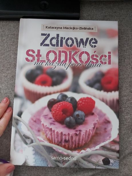 Książka zdrowe słodkości