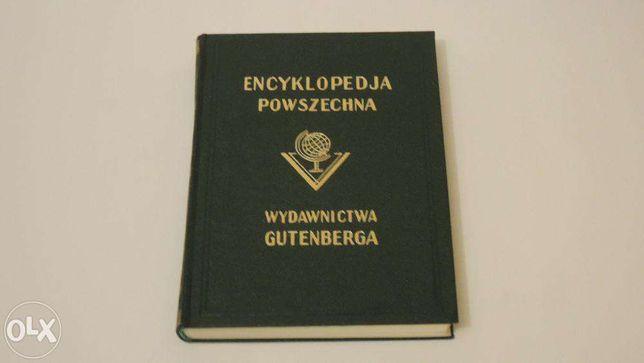 ENCYKLOPEDIA POWSZECHNA Wydawnictwa Gutenberga - tomy 1-21 (Białystok)