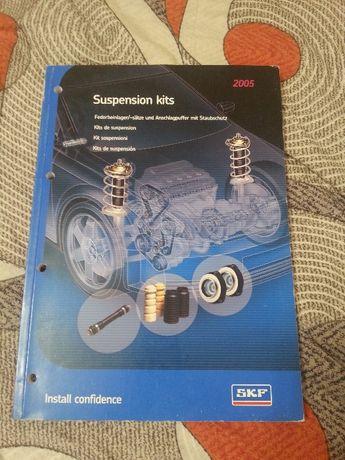 katalog SKF zestawów naprawczych zawieszeń samochodów
