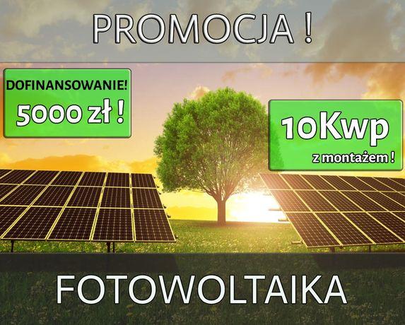 PROMOCJA Fotowoltaika Panele Fotowoltaiczne Montaż 10Kwp PROMOCJA!