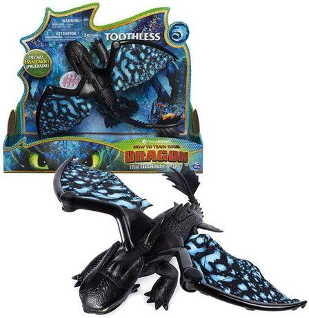 Как приручить дракона Беззубик со светом и звуком Dreamworks Dragons