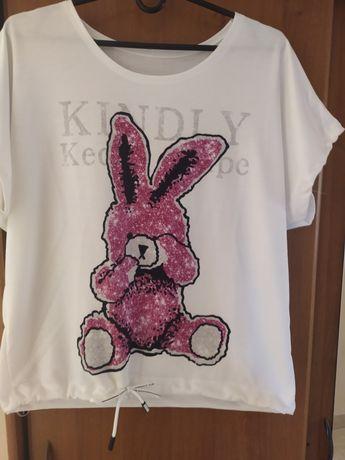 Fajna bluzeczka królik