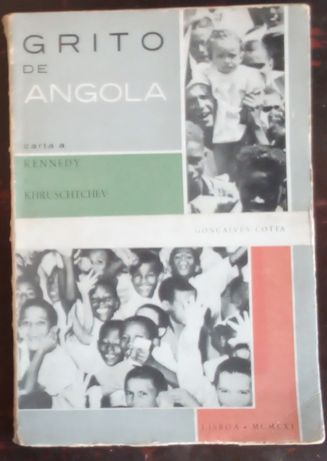 grito de angola carta a Kennedy e khruschtchev / Gonçalves cota