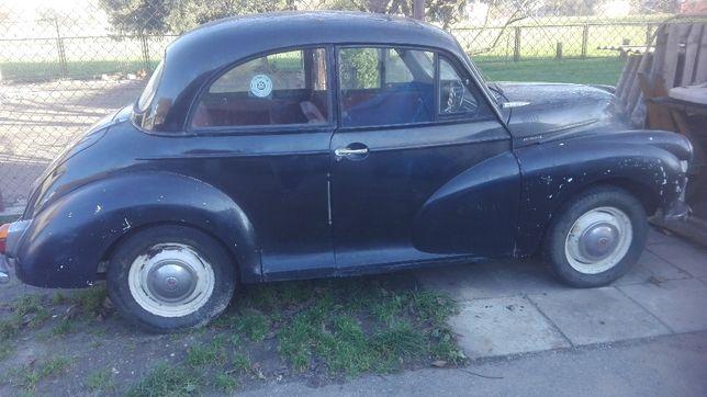 Moriis Minor 1000 historyczny samochodzik , 1957rok.