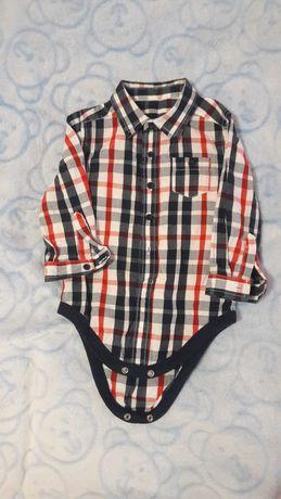 Рубашка боди на мальчика