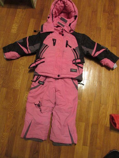 Комбинезон детский зимний, комбінезон дитячий Skorpian на 3 года