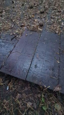 PILNIE Sprzedam drewno/deski impregnowane