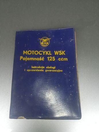 Instrukcja obsługi WSK 125