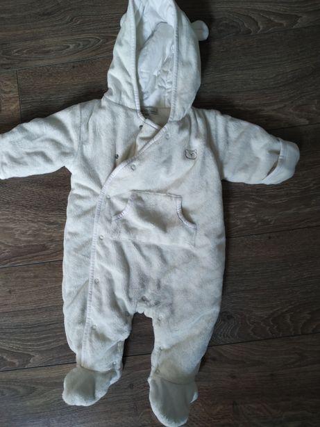 Kombinezon niemowlęcy, 62cm, 3m, ocieplany, ciepły