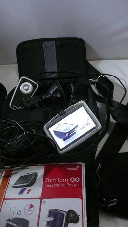 Nawigacja TomTom GO 910 cały zestaw akcesoria torba